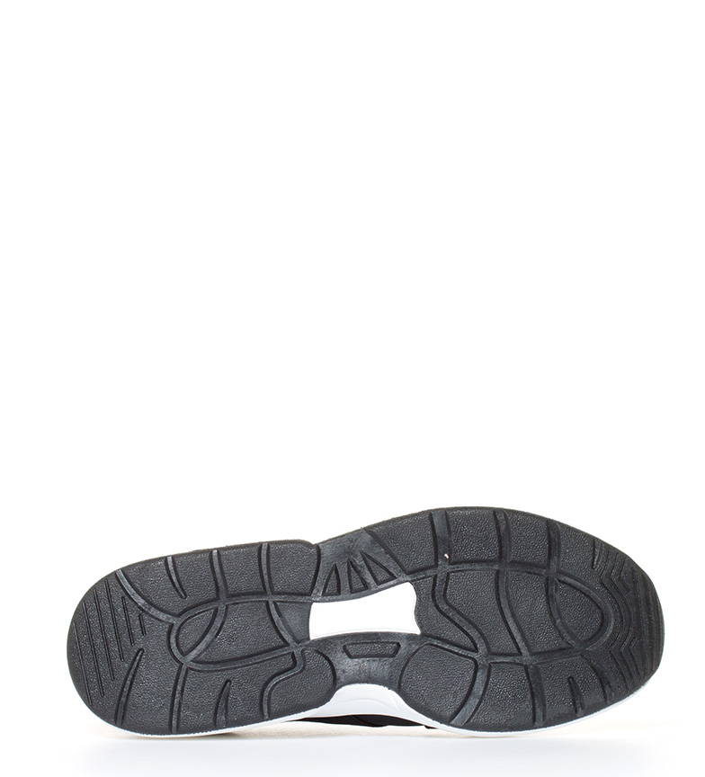 de negro Victoria elásticos neopreno Sneakers con neopreno con de Sneakers Victoria CYdxwvSxq