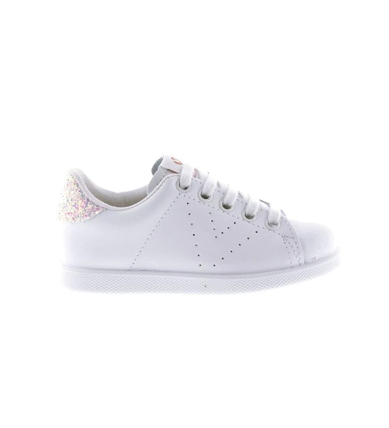 Victoria Sapatos de couro de groselha brilhante