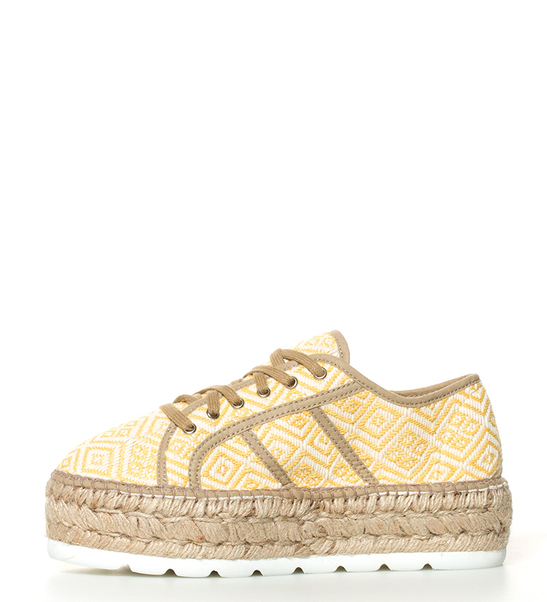 amarillo Victoria 5cm Zapatillas Altura plataforma wzWxUFaCq