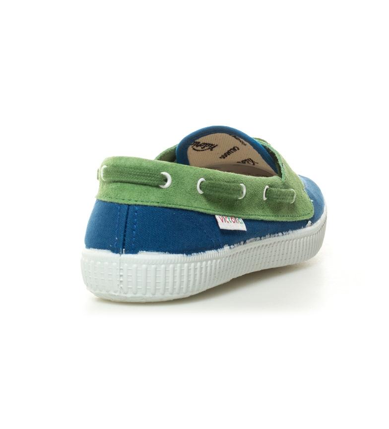 Victoria Zapatillas combinadas índigo