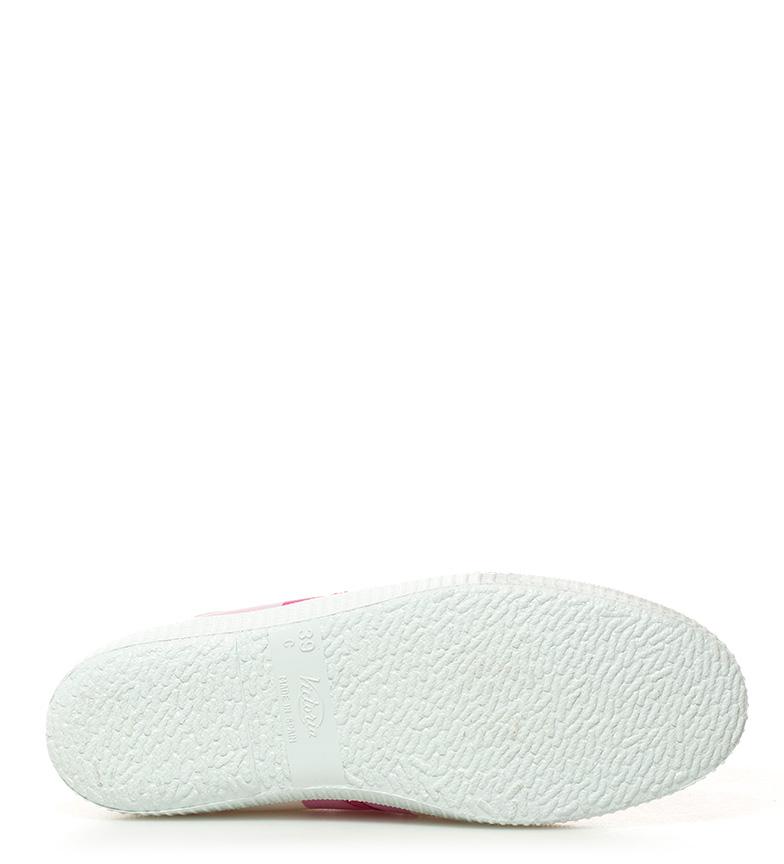 cuadros Zapatillas de Victoria fucsia blanco q4OEAz