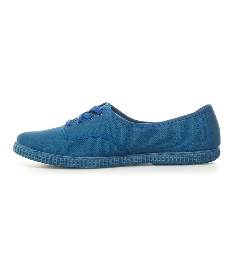 de Zapatillas Victoria Victoria lona azul Zapatillas OP7Rx4