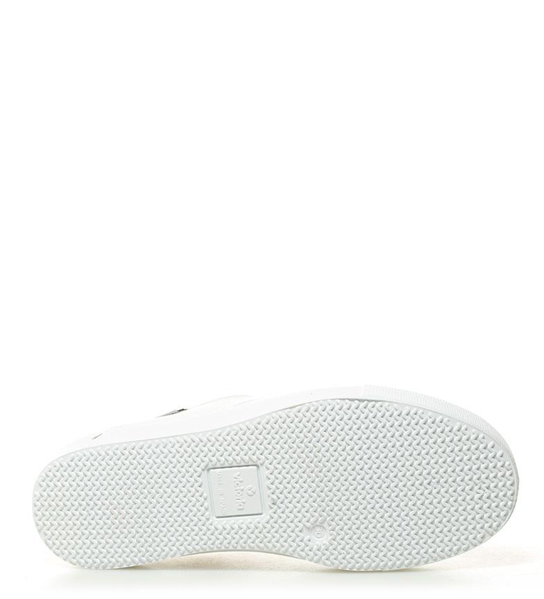 Victoria Zapatillas de lona blanco