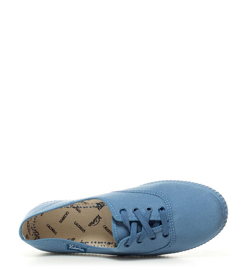 Victoria Zapatillas de lona celeste