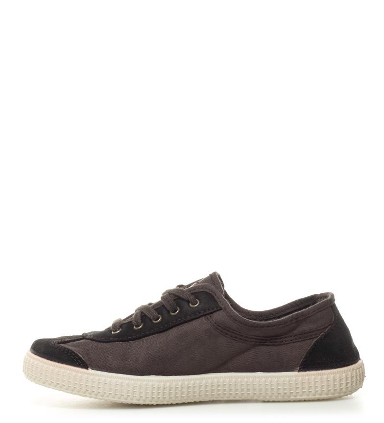 Zapatillas Victoria lona de lona lona Victoria Zapatillas marrón de Zapatillas marrón marrón de Victoria C5Fwqzgnx