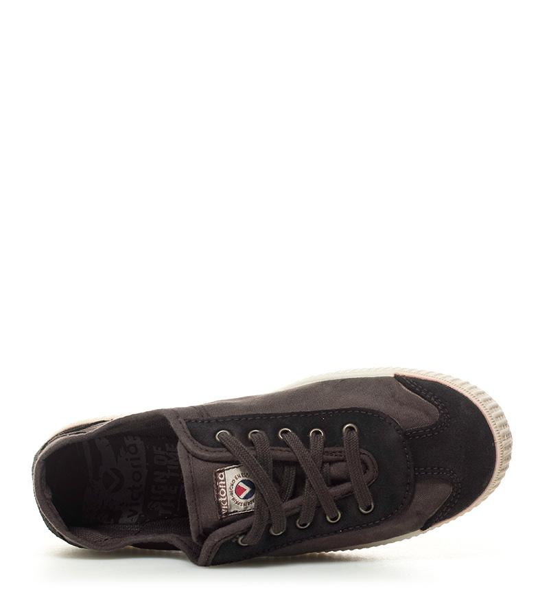 marrón Victoria Victoria lona Zapatillas Zapatillas de x70qB6
