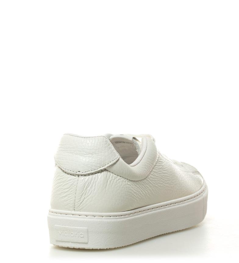 Victoria de Victoria blanco Zapatillas piel Zapatillas q5xY7C