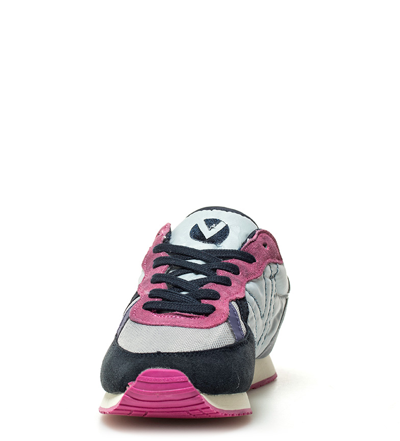 Victoria-Zapatillas-de-piel-combinada-Mujer-chica