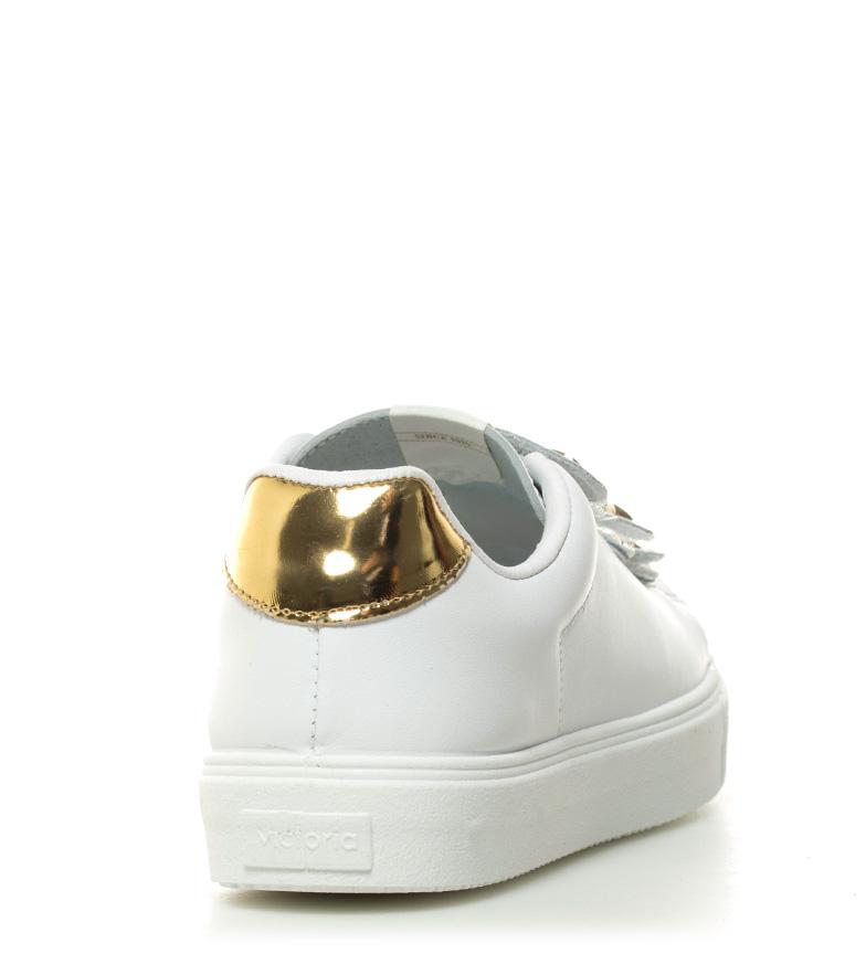 piel de Victoria blanco Zapatillas estrellas qwERwx1B