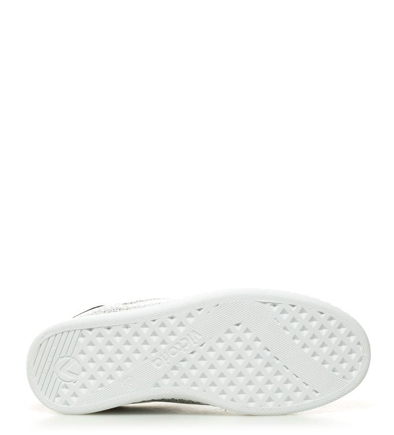 blanco Victoria estampado estampado Zapatillas Victoria Zapatillas blanco a4qwOBd