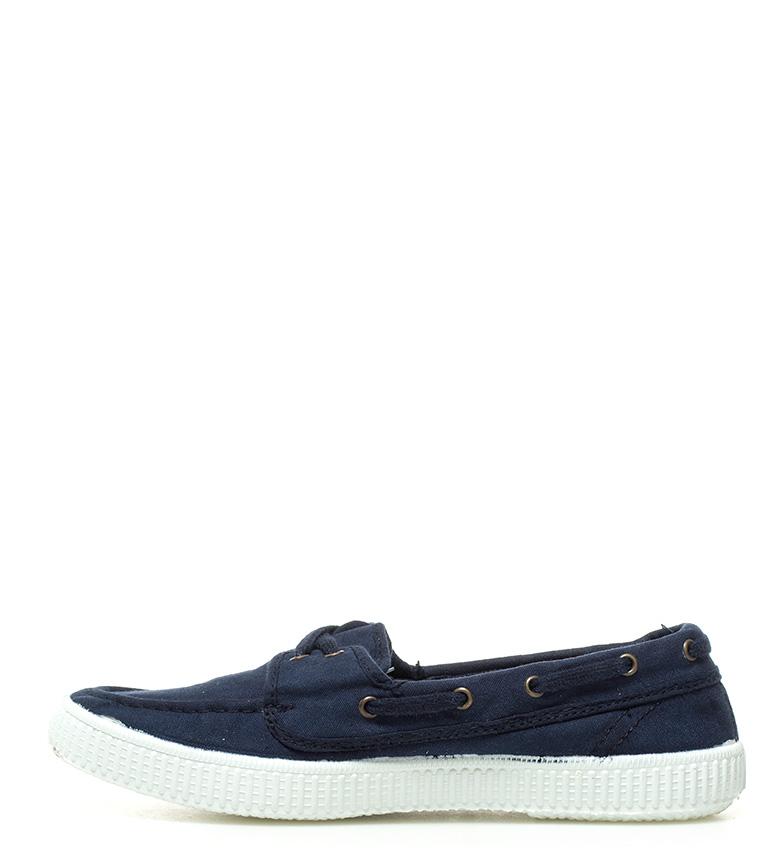 Victoria azul marinero estilo marino Zapatillas HA6HqnB