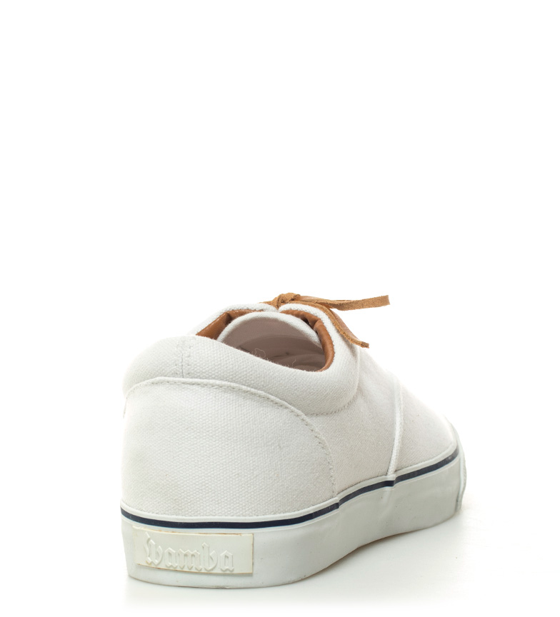 Victoria Zapatillas lona blanco