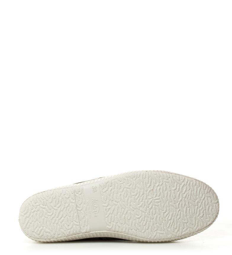Victoria Zapatillas lona kaki