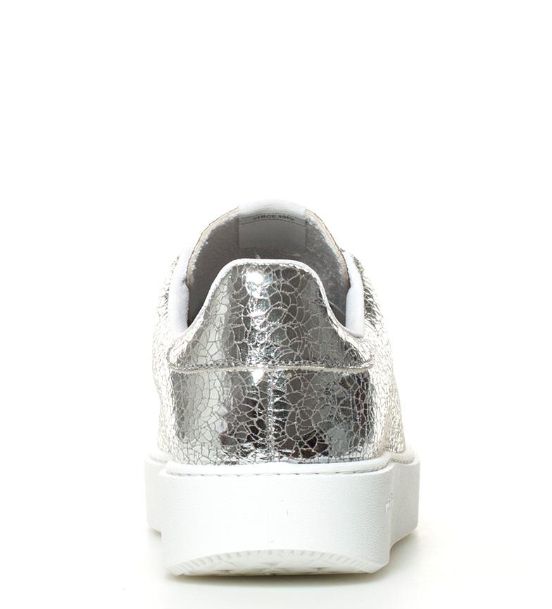 Zapatillas 4cm Altura Victoria suela plateado craqueladas dqTcYg