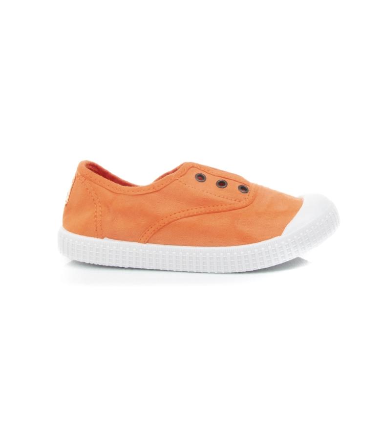 Comprar Victoria Sapatos de alcaçuz laranja