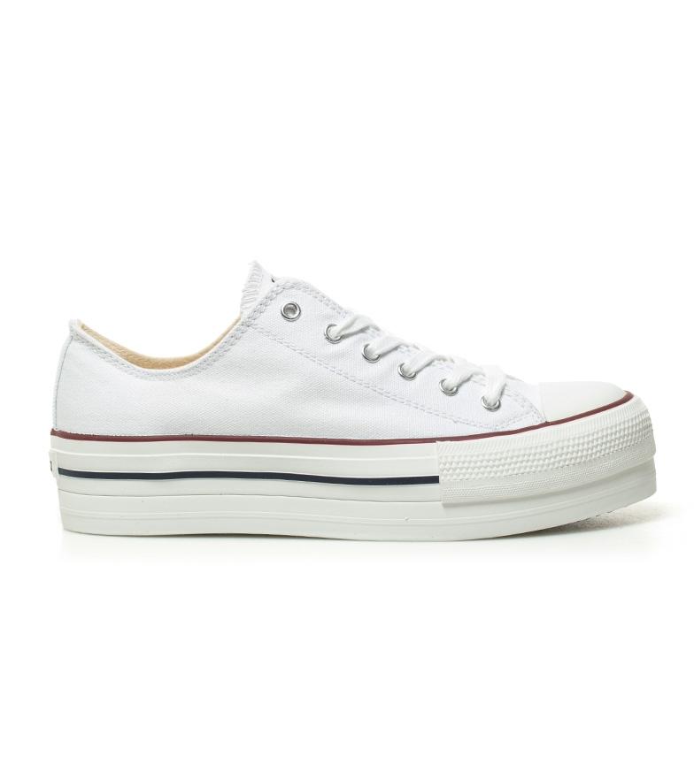 Comprar Victoria Scarpe stile basket bianco - Altezza piattaforma: 4 cm-