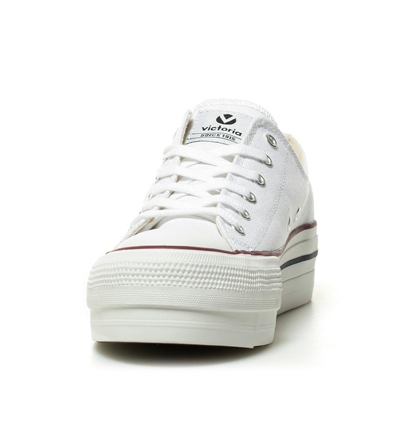 Victoria plataforma Zapatillas estilo 4 Zapatillas Altura Victoria blanco cm basket S7qgdnwdf