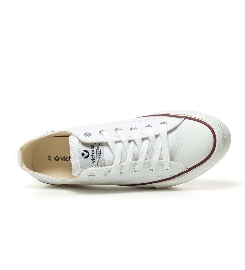 plataforma basket Zapatillas Altura blanco Victoria cm 4 estilo w8XxqwB