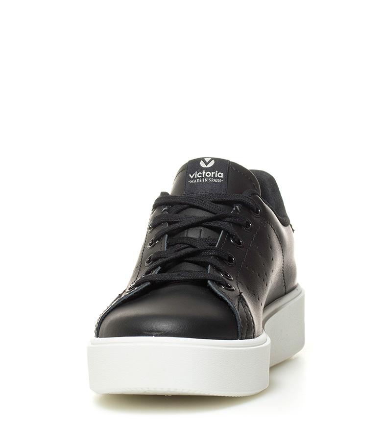 textil Victoria Altura Zapatillas 7cm plataforma negro gxx7w1q5HA