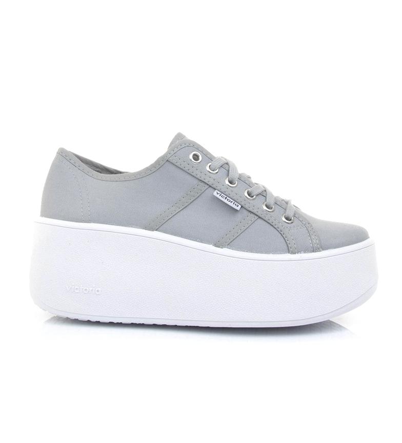 Comprar Victoria Brave scarpe grigie - Altezza plateau: 6cm-
