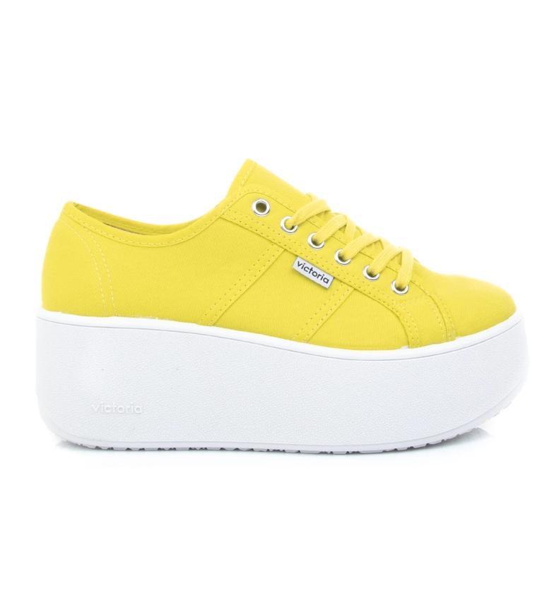 Comprar Victoria Chaussures Brave jaune - Hauteur de la plate-forme : 6cm