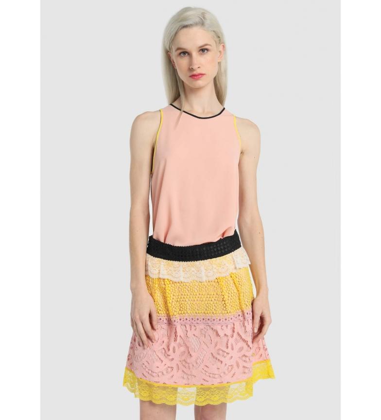 Comprar Victorio & Lucchino, V&L Multicolored lace skirt