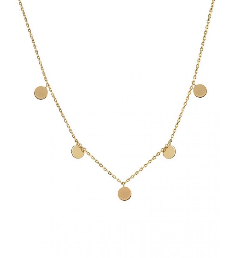 Comprar VIDAL & VIDAL Necklace Trendy round motifs gold 18Ktes