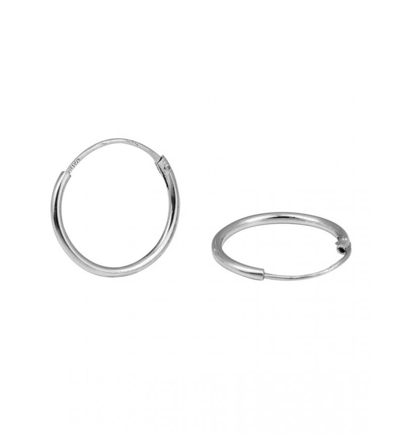 VIDAL & VIDAL Brincos Brincos Essentials brincos de aro de 16,1mm prata
