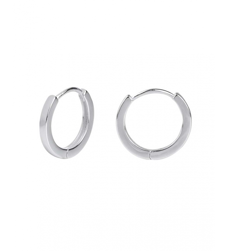 Comprar VIDAL & VIDAL Vidal & Vidal Trendy collection silver hoop earrings