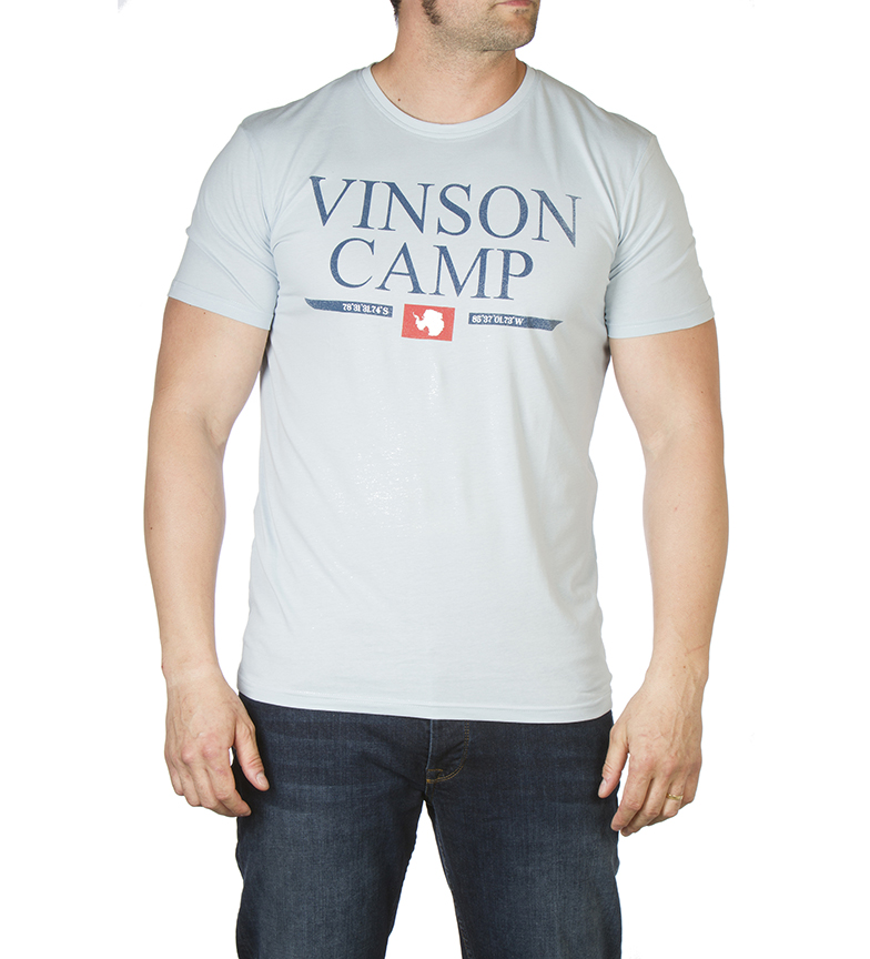 Comprar Vinson Waldo blue t-shirt
