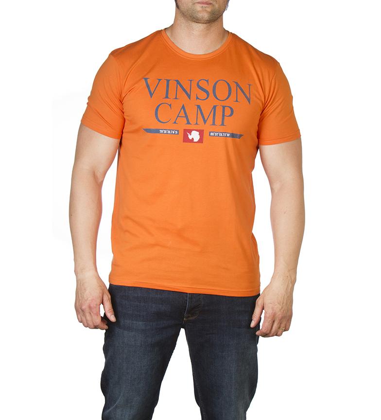 Comprar Vinson Waldo orange t-shirt
