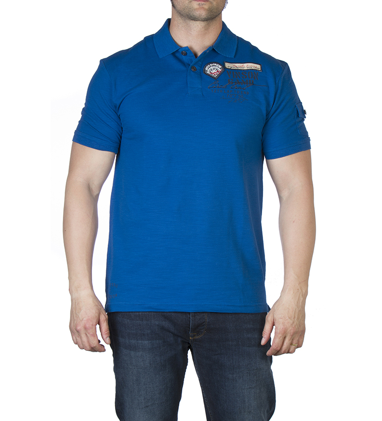 Comprar Vinson Polo Wells azul