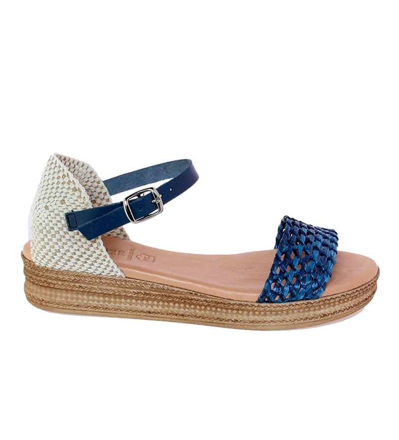 Comprar VISANZE Sandálias de couro Rosa azul