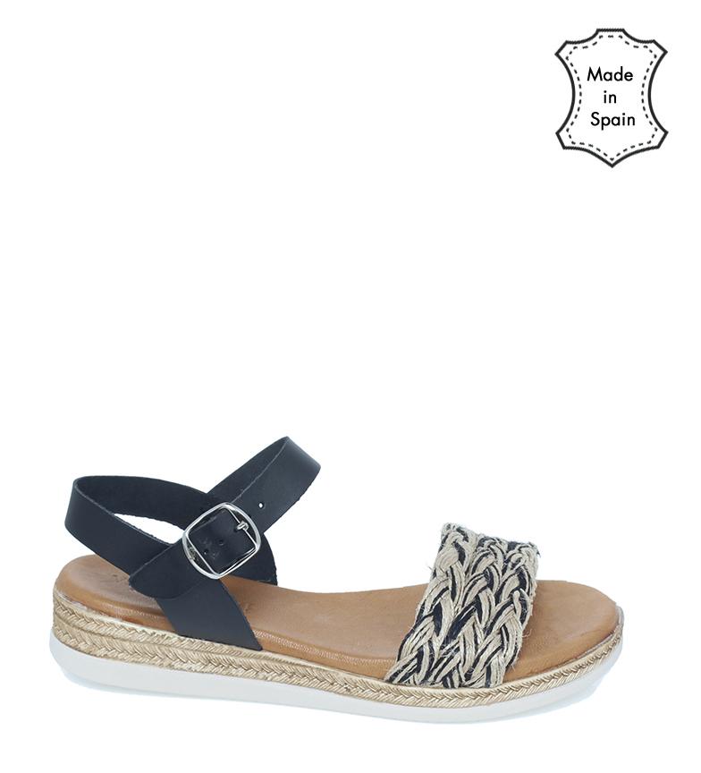 Comprar VISANZE Leather sandals 20065 black