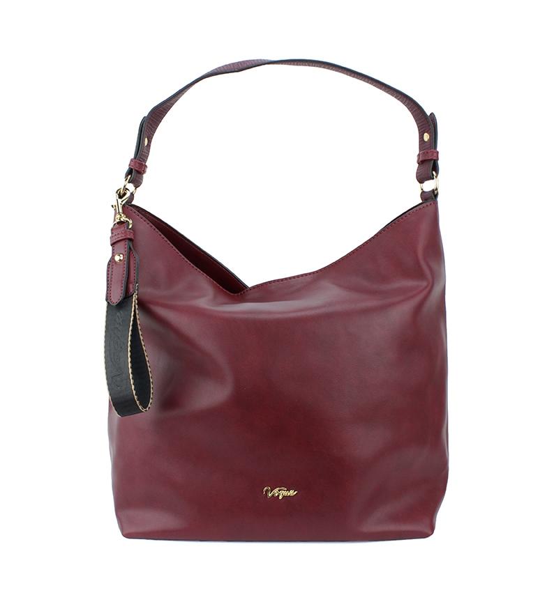 Comprar Vogue Bolsa Burgundy Contemporânea -30x31x17x17cm