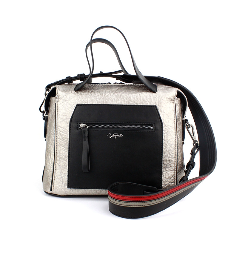 Comprar Vogue Saco de streetwear prateado -26x32x15x15cm