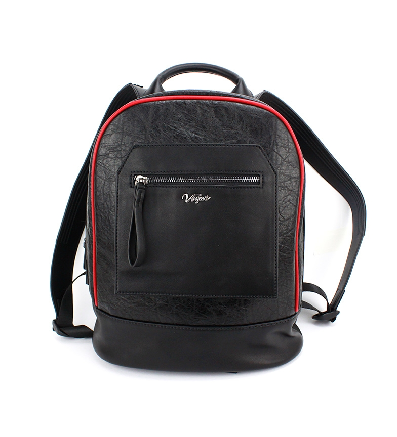 Comprar Vogue Mochila Streetwear negro -32x28x14cm-