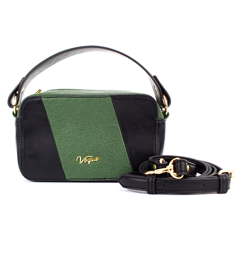 Comprar Vogue Sac de week-end noir, vert -11x18x7cm