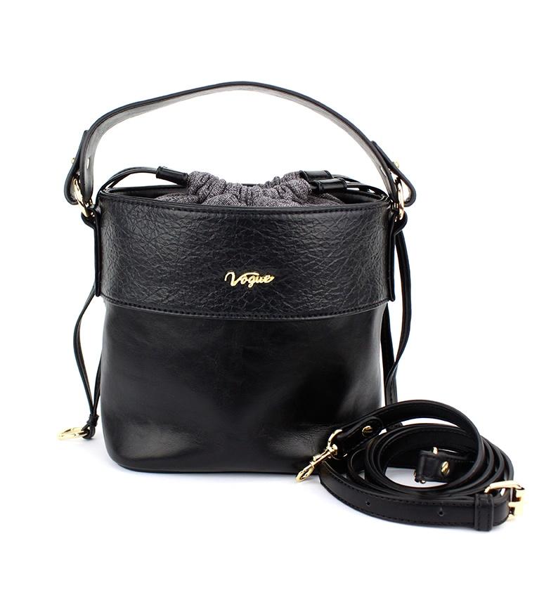Comprar Vogue Sac de week-end noir -20x18.5x12cm
