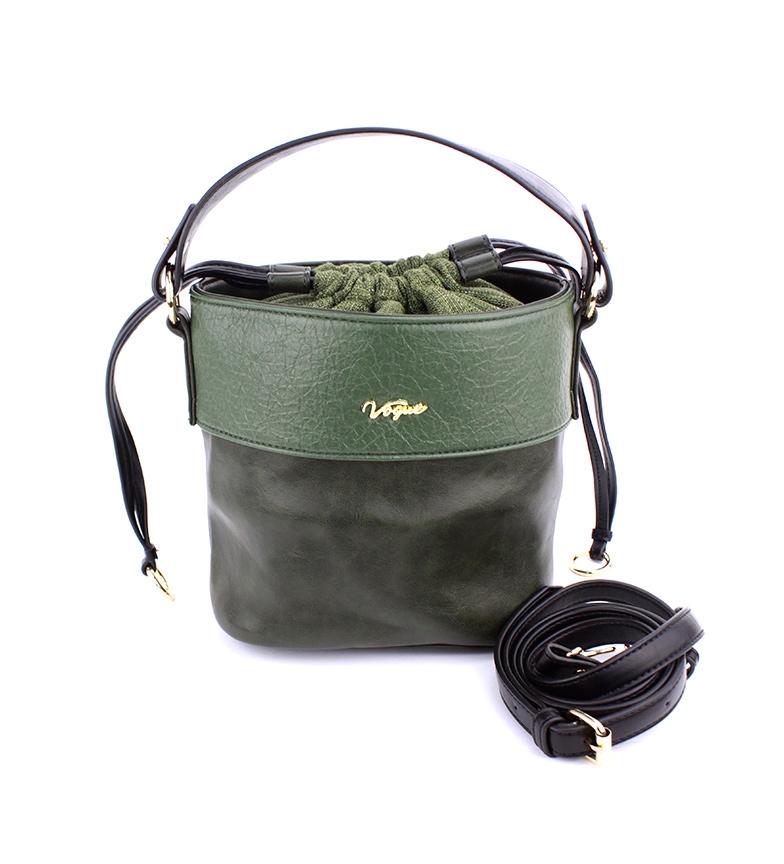 Comprar Vogue Bolso Weekend verde -20x18.5x12cm-
