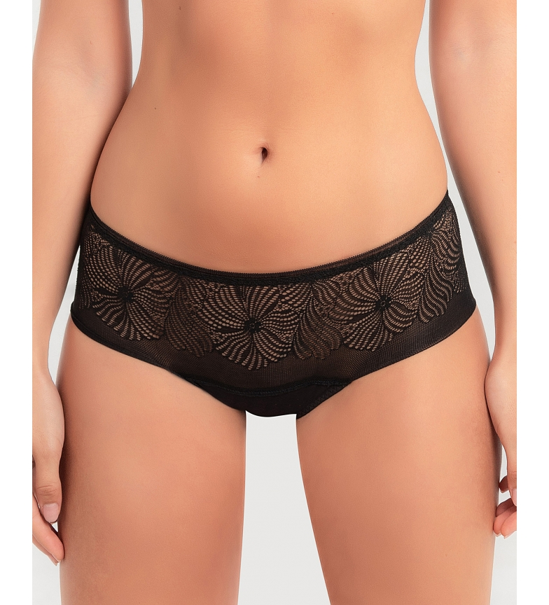 Comprar Wonderbra Fabulous Feel pantyhose with black floral lace