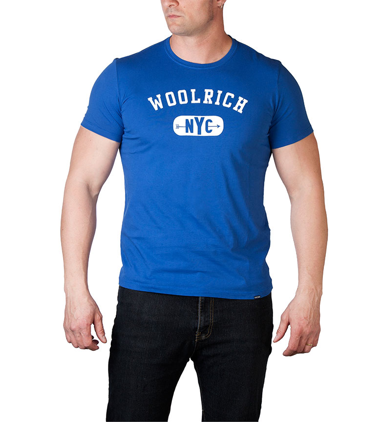 Azul Camiseta Azul Woolrich RoyalBlanco Azul RoyalBlanco Camiseta Woolrich Camiseta RoyalBlanco Azul Woolrich Woolrich Camiseta SGLMpqVjUz