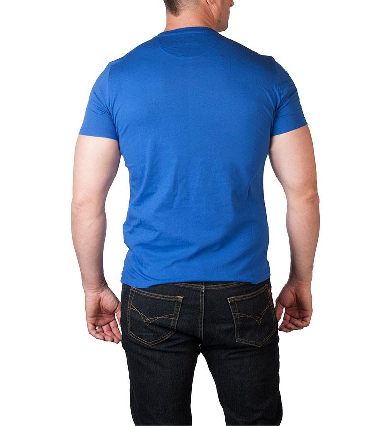 Camiseta RoyalBlanco Woolrich Woolrich RoyalBlanco Camiseta Azul Azul Woolrich 6fYbvgy7