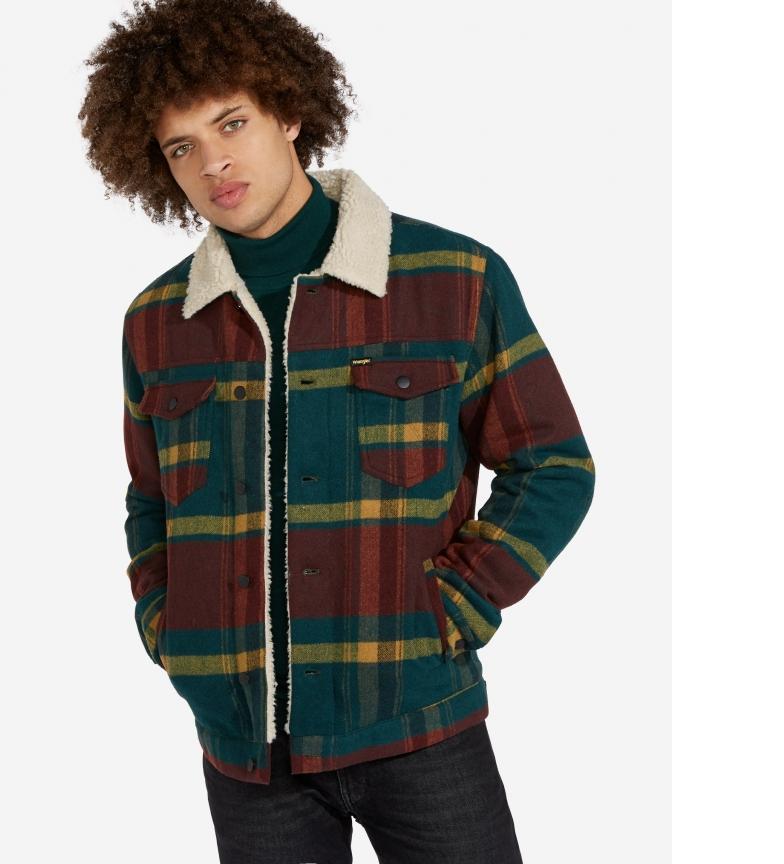 Comprar Wrangler Trucker jacket red, green