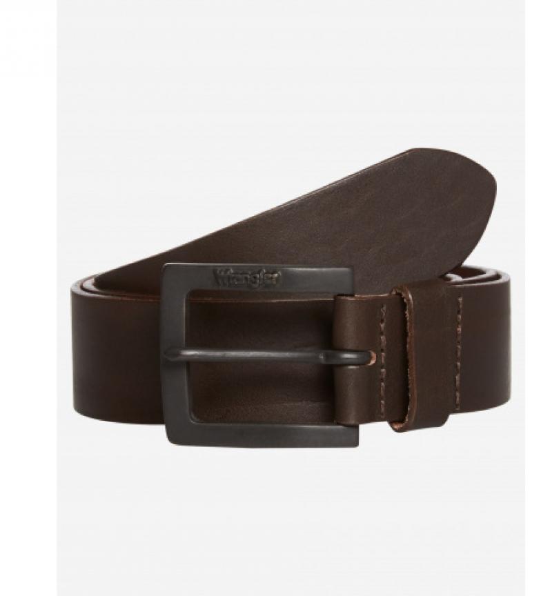 Comprar Wrangler Leather belt Kabel Buckle brown