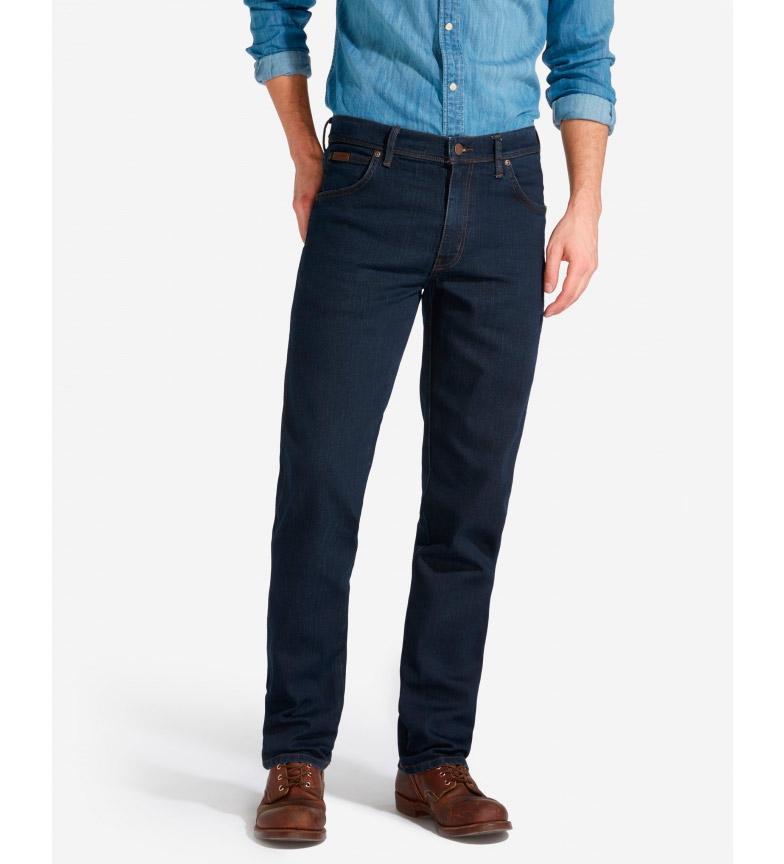 Comprar Wrangler Jeans Texas Strech blu scuro