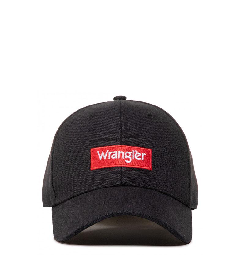Comprar Wrangler Gorra Logo negro