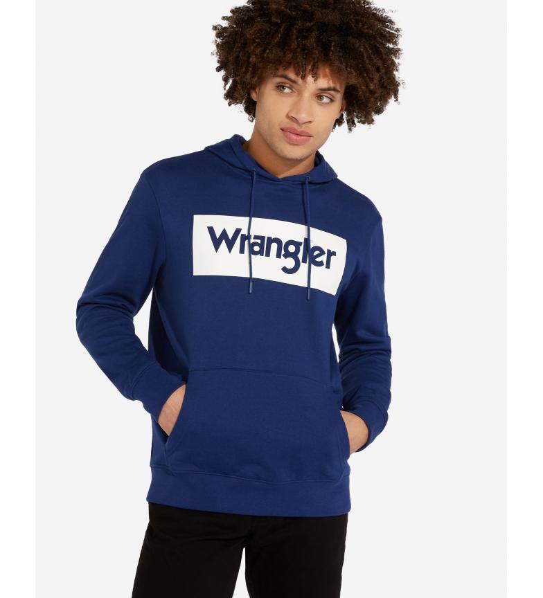 Comprar Wrangler Sweat-shirt Logo bleu
