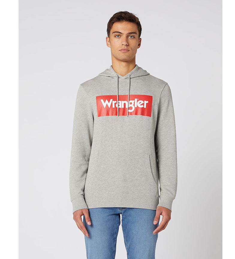 Comprar Wrangler Sudadera Logo gris
