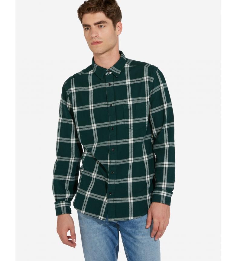 Comprar Wrangler Uma camisa de bolso verde